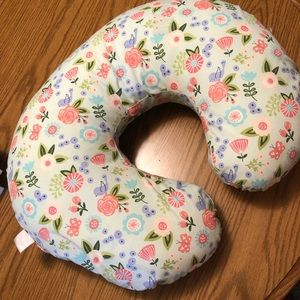 Floral Boppy Pillow Cover